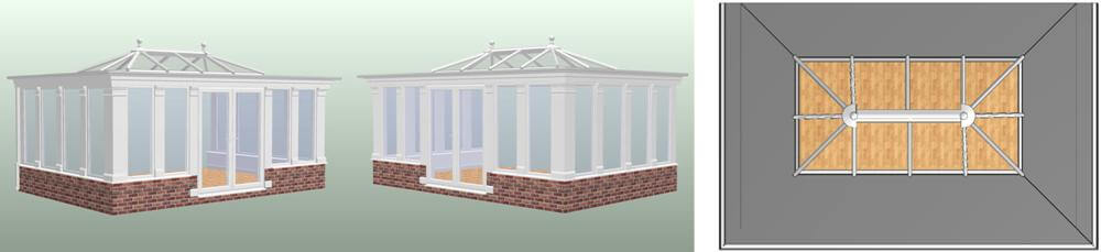 Orangery designs, conservatory and orangery designs image