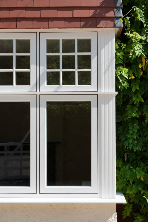 authentic timber windows, bespoke authentic timber windows, flush sash authentic timber windows, white windows