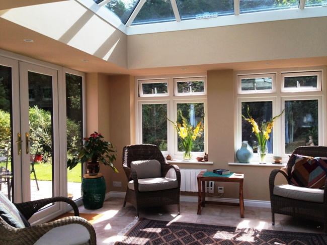 Cambridgeshire orangeries interior, inside plastered orangeries Cambridgeshire, Cambridgeshire orangeries interior designs