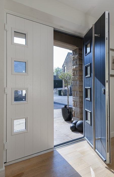 dark grey colour options for composite doors interior in Bedford, Bedford modern composite doors interior design, interior composite doors modern grey in Bedford, secure Bedford composite door grey modern colours