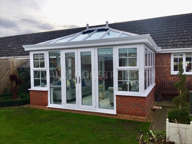 orangery style conservatory designs on bungalows, bungalow orangery style conservatories, bungalow orangery style conservatories with boxgutter, conservatory design options for bungalows, conservatory ideas for a bungalow