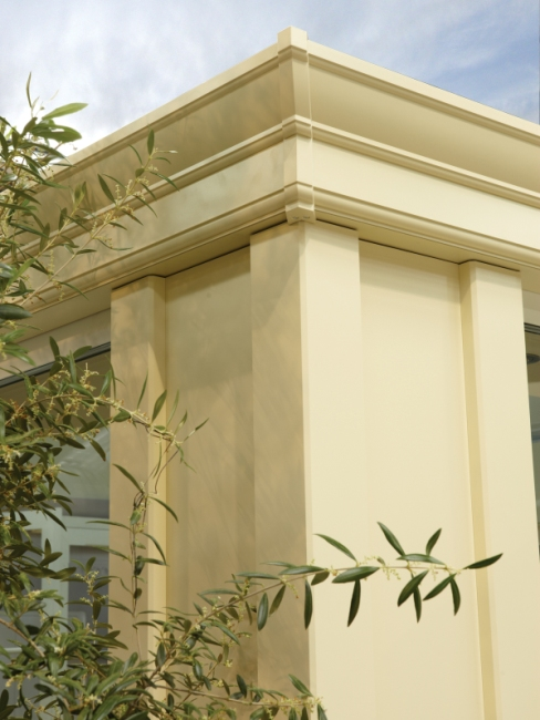 conservatory style, conservatory style options, conservatory decorative options, loggia pillar conservatory