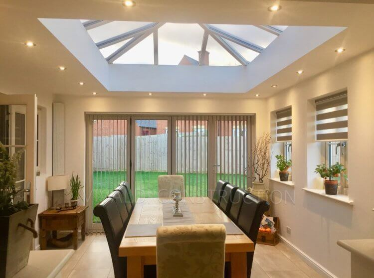 Popular everyday conservatory uses vivaldi construction for Conservatory dining room design ideas