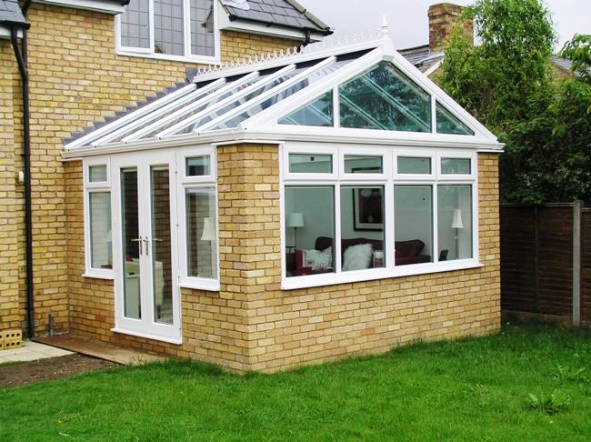 gable conservatory, gable conservatories, gable front conservatory, gable end conservatories