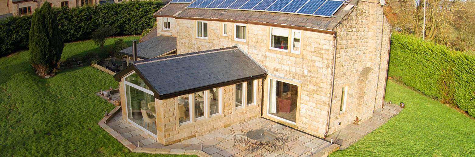 Solid Roof Conservatories In Leicestershire Vivaldi Construction